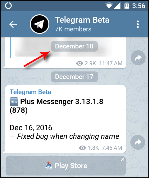 Telegram Android vs iOS – Telegraph